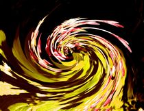Abstract art of colors by Michael  Wick