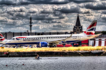 British Airways and Single Scull von David Pyatt