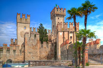 Scaliger Burg - Kastell in Sirmione by Gina Koch