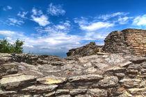 Grotte des Catull in Sirmione am Gardasee von Gina Koch