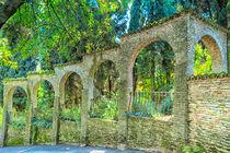 Mauern um einen Garten  von Gina Koch