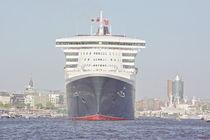 Hamburg, Hafengeburtstag - harbours birthday, Queen Mary 2 von Marc Heiligenstein