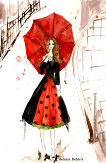 Carrie Bradshaw by Vanessa Datorre