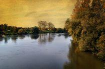 Danube near Straubing in Bavaria by Helmut Schneller