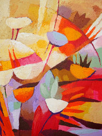 Floral Abstraction von Lutz Baar
