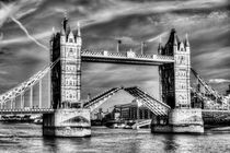 Tower Bridge London opening by David Pyatt