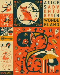 ALICE'S ADVENTURES IN WONDERLAND von Jazzberry  Blue