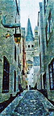 blue alley by ursfoto