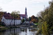 Herzogschloss in Straubing by Helmut Schneller