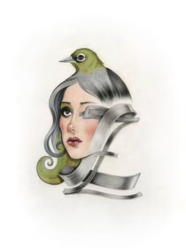 Bird • Letter • Face | Z by Laura Serra