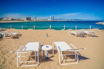 Barcelona beach. von Juan Bautista
