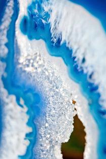 Blue stone lazurite macro by Tatyana Nazarenko