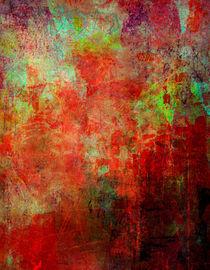 red n green n black II by Wolfgang Rieger