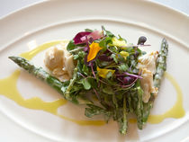 Crab and Asparagus Salad by Louise Heusinkveld