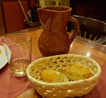 A Loaf of Bread and a Jug of Wine by Louise Heusinkveld