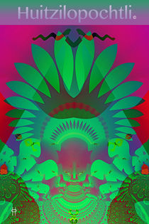 Huitzilopochtli Poster by Jim Pavelle