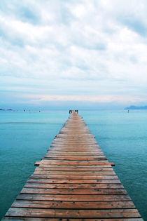 Silent Place - Jetty Pier von Tobias Pfau