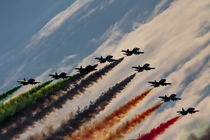 Frecce Tricolori by James Biggadike