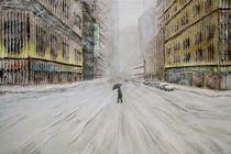 New York City Winter von Thomas Bley