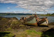 Isle of Mull, Scotland, Boats by Jacqi Elmslie