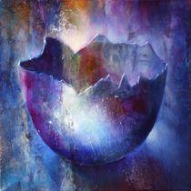 Eierschale blau von Annette Schmucker
