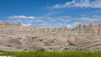 The Ridge At The Badlands by John Bailey