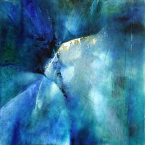 Abstrakte Komposition in blau  by Annette Schmucker