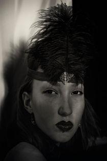 Portrait of a cabaret dancer von Igor Korionov