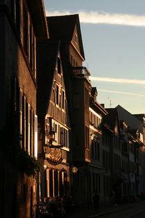 Street in Heidelberg von atari-frosch