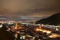 Heidelberg at night, from the castle von atari-frosch