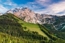 Bergkette by moqui