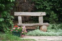 A bench in the park von atari-frosch