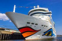 AIDAstella Kreuzfahrtschiff auf Reisen von Dennis Stracke