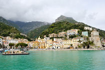 view of Cetara, Amalfi Coast by tanialerro