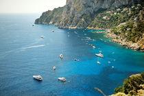 beautiful sea island of Capri by tanialerro