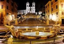 Piazza di Spagna, Rome, Italy von tanialerro
