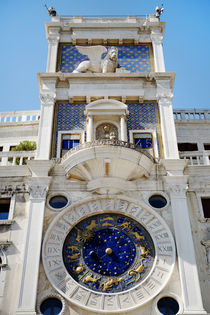 St Mark's Clocktower, Venice by tanialerro