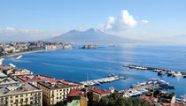 Naples panoramic view by tanialerro