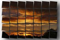 Sunset by Helmut Schneller