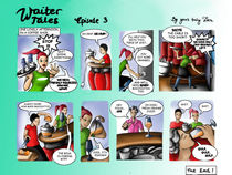 Waiter Tales Comic, episode 3 by Dora Vukicevic
