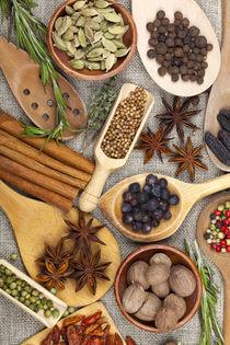 Duftende Zutaten zum würzen und kochen von Thomas Klee