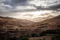 Marokko Berge von moxface