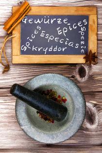 Gewürze - Spices - Epices - Especias von Thomas Klee
