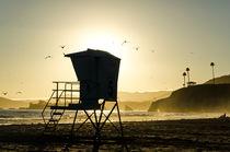 Rettungsschwimmer-Häuschen in Kalifornien von caladoart
