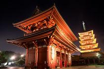 Tokyo - Senso-ji Temple von Larsen Wulff