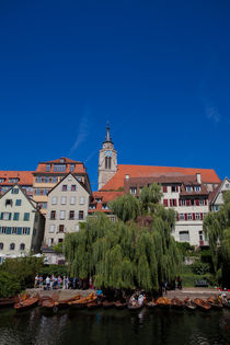Tübingen from the Neckar by safaribears