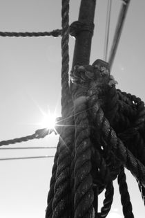 Bright sun and coiled rope von Intensivelight Panorama-Edition