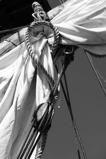 Reefed sail - monochrome von Intensivelight Panorama-Edition