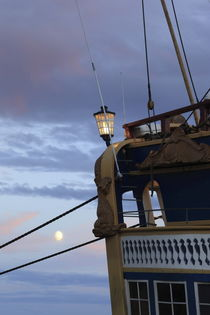 Moonshine and tall ship by Intensivelight Panorama-Edition