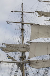 Sails of a brig by Intensivelight Panorama-Edition